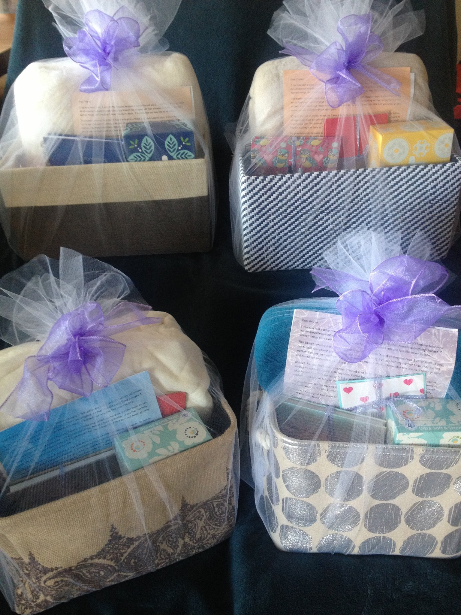 care baskets for grieving mothers
